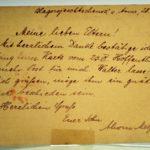Feldpost Alwin Metz Januar bis September 1917, item 49