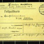 Hedwig Nehlsen schreibt ihrem Mann Wilhelm an die Ostfront - 1916