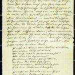 Hedwig Nehlsen schreibt ihrem Mann Wilhelm an die Ostfront - 1917