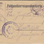 Drei handgezeichnete Feldpostkarten, item 2