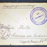 Karl Hermann Förster schreibt aus französischer Kriegsgefangenschaft - 1. Jahr: 1915, item 3