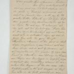 Brief gekregen van Belgische vluchtelinge,