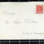 Aloisia Walter Korrespondenz mit Josef Strömer, item 1