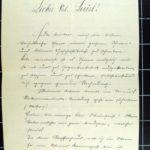 Aloisia Walter Korrespondenz mit Josef Strömer, item 3