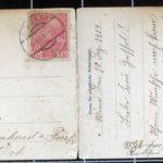 Zwei Postkarten aus dem Nachlass Johann Racher, item 5