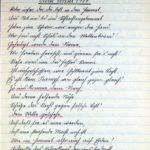 Kriegsgedichte von Hilda Heinze, geb. Blühm