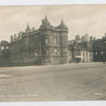 Series of postcards with pictures of Edinburgh. On reverse, text by Muriel Green, all dated April 1914
