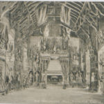 Postcard of Old Parliament Hall, Edinburgh Castle