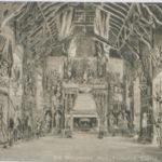 Postcard of Old Parliament Hall, Edinburgh Castle