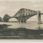 Postcard of the Forth Bridge, Edinburgh
