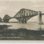 Postcard of the Forth Bridge, Edinburgh