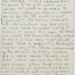 Letter from Muriel to her husband Stanley Green, March 1916