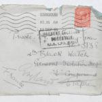 Envelope addressed to Private Green at General Isolation Hospital, Etaples, Sept. 12, 1916
