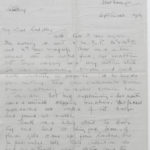 Letter from Muriel Green to her husband, Sept. 12?, 1916, page 1