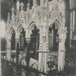 Postcard of the Dean Duncombes Monument at York Minster