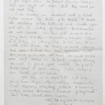 Second letter from Muriel to Stanley written on Sept. 6, 1916, page 4