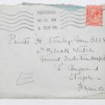 Envelope addressed to Stanley Green, General Isolation Hospital, Etaples, France