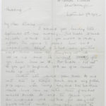 Letter from Muriel to Stanley written on Sept. 7, 1916, page 1