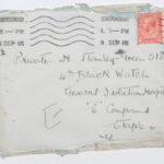 Envelope addressed to Stanley Green, General Isolation Hospital, Etaples, France