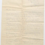 Letter from Stanley to Muriel Green, North Camp, Ripon, page 1