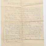 Letter from Stanley to Muriel Green, North Camp, Ripon, page 3