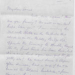 Letter to Muriel from North Camp, Ripon, 8 April 1917