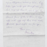 Harry Stanley Green's letters and medals, item 115