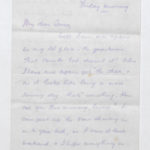 Letter to Muriel from her husband Stanley Green in North Camp, Ripon, 17 April 1917