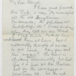 Letter to Muriel, written in a train