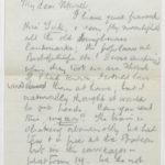 Letter to Muriel, written in a train