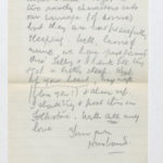 Harry Stanley Green's letters and medals, item 127