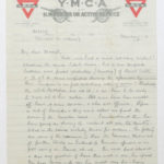 Letter to his wife Muriel, March 1917