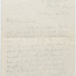 Letter to Muriel from Stanley in the General Isolation Hospital, Etaples, France, 20 Aug. 1916