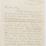 Letter to Muriel from Stanley in Etaples, France, 3 Sept. 1916
