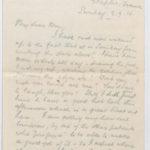 Letter to Muriel from Stanley in Etaples, France, 3 Sept. 1916