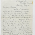 Letter to Muriel from Stanley in General Isolation Hospital, Etaples, France, 12 Sept. 1916