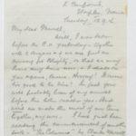 Letter to Muriel from Stanley in General Isolation Hospital, Etaples, France, 12 Sept. 1916