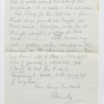 Harry Stanley Green's letters and medals, item 181