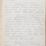 John Breed, Diary and Training diary, item 5