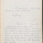 John Breed, Diary and Training diary, item 11