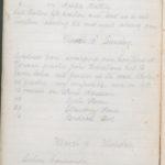 John Breed, Diary and Training diary, item 16