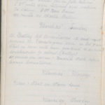 John Breed, Diary and Training diary, item 18