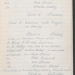 John Breed, Diary and Training diary, item 23