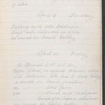 John Breed, Diary and Training diary, item 25