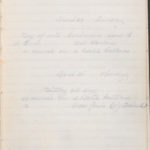 John Breed, Diary and Training diary, item 29