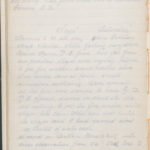 John Breed, Diary and Training diary, item 32
