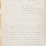 John Breed, Diary and Training diary, item 33