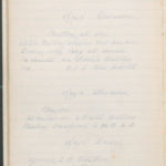 John Breed, Diary and Training diary, item 34