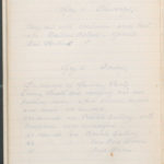 John Breed, Diary and Training diary, item 36