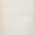John Breed, Diary and Training diary, item 37